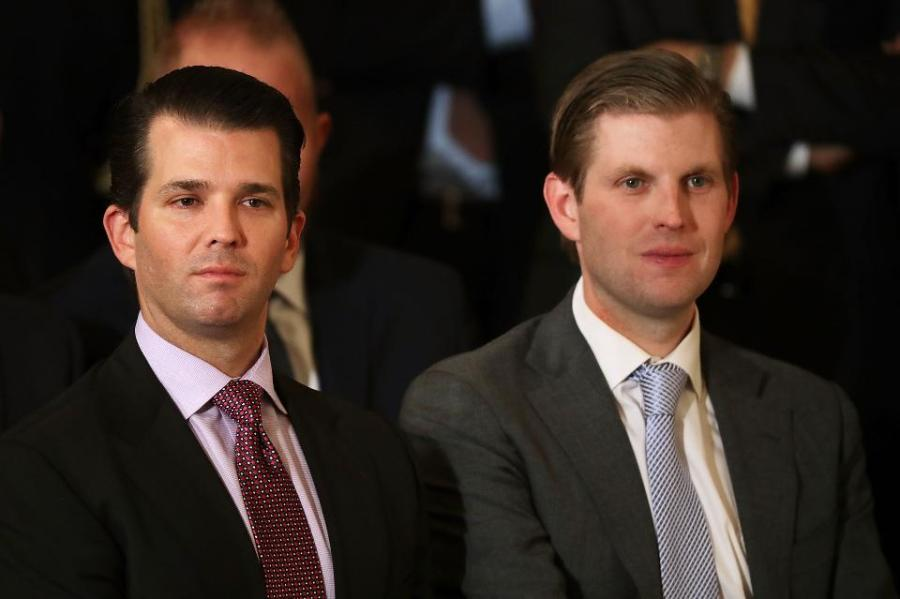 "Eric Trump: ""We might be here because of nepotism, but we're not still here because of nepotism."""